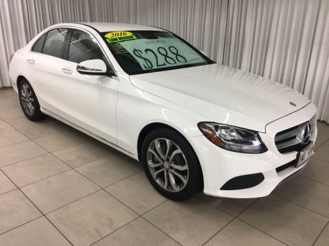 Pre-Owned 2016 Mercedes-Benz C300 Rear Wheel Drive 4dr Car