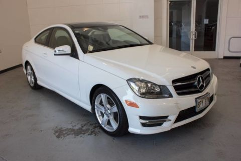 Certified Pre-Owned 2015 Mercedes-Benz C 250 Rear Wheel Drive Coupe