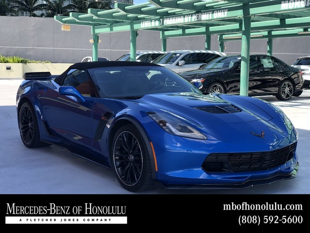 Pre Owned 2015 Chevrolet Corvette Z06 3lz Convertible In Honolulu