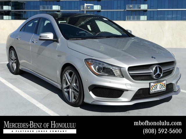 Certified Pre Owned 2015 Mercedes Benz CLA AMG® CLA 45