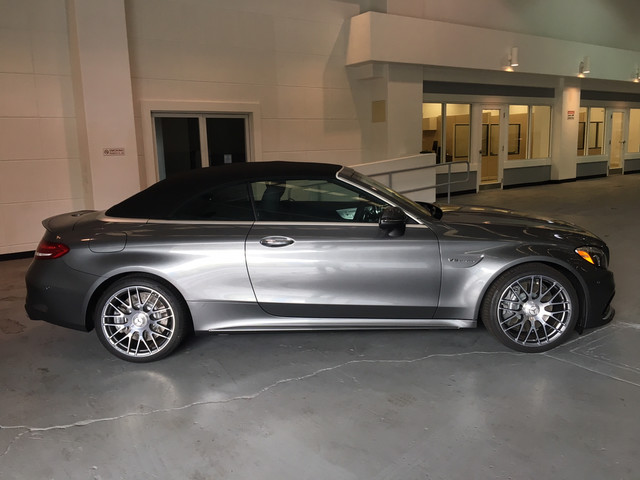 New 2017 Mercedes Benz C Class Amg C 63 Convertible In