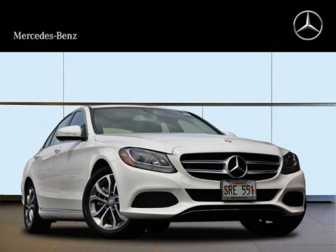 Pre-Owned 2015 Mercedes-Benz C 300 Rear Wheel Drive Sedan