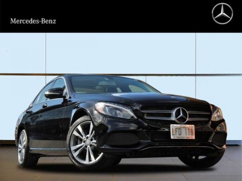 Certified Pre-Owned 2015 Mercedes-Benz C 300 All Wheel Drive 4MATIC® Sedan