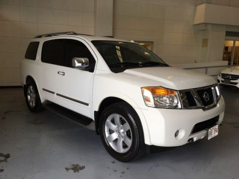Pre-Owned 2011 Nissan Armada SL Rear Wheel Drive SUV