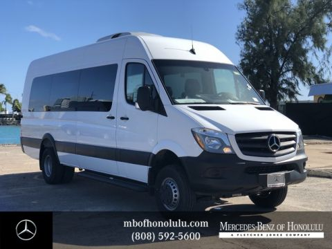 New 2017 Mercedes-Benz Sprinter Cargo Van 3500 Liner Shell Van