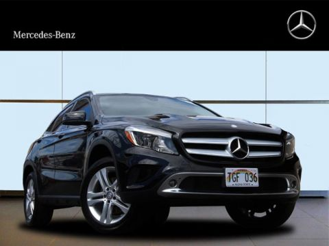 Pre-Owned 2015 Mercedes-Benz GLA 250 All Wheel Drive 4MATIC® SUV