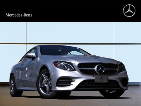 New 2018 Mercedes-Benz E 400 Sport Rear Wheel Drive Coupe