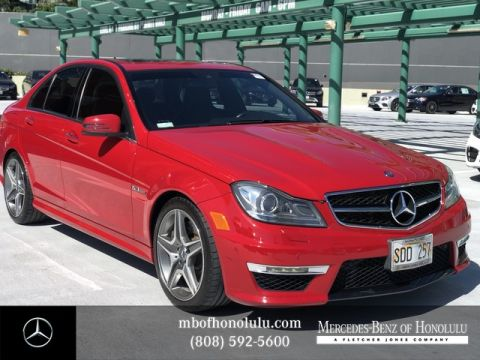 Pre-Owned 2013 Mercedes-Benz C-Class C 63 AMG®