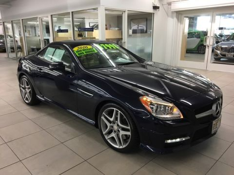 Certified Pre-Owned 2016 Mercedes-Benz SLK 350 Rear Wheel Drive Convertible