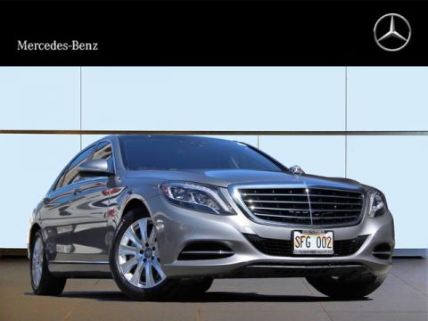 Certified Pre-Owned 2014 Mercedes-Benz S 550 Rear Wheel Drive Sedan