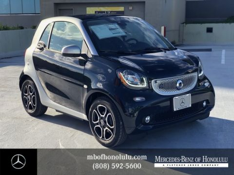 New 2018 smart fortwo electric drive EQ fortwo coupe